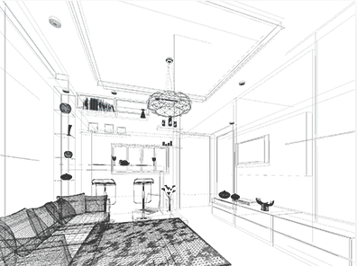 Weiss Design Group Inc. Interior Blueprint